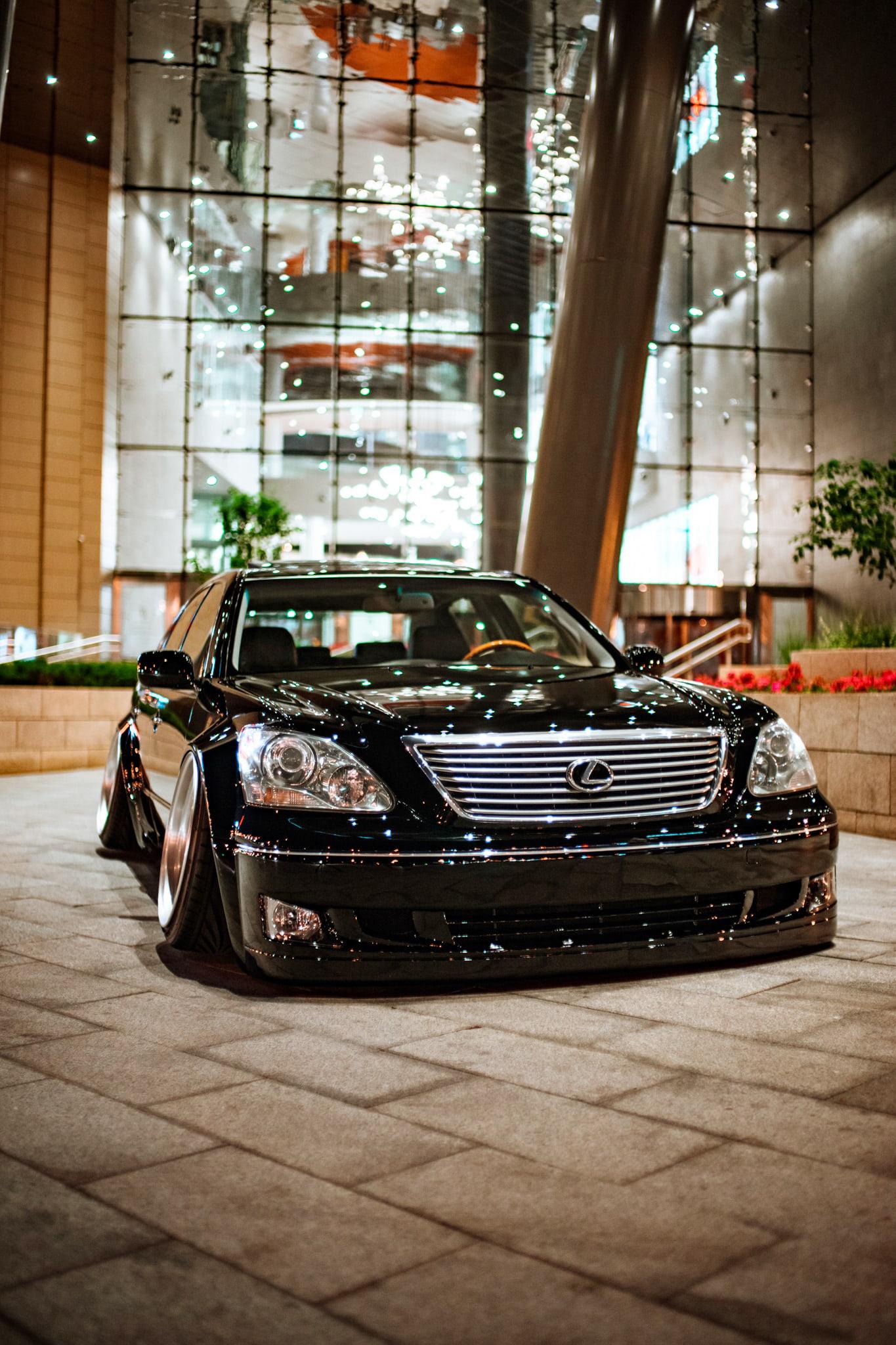 Lexus LS Stance Russia