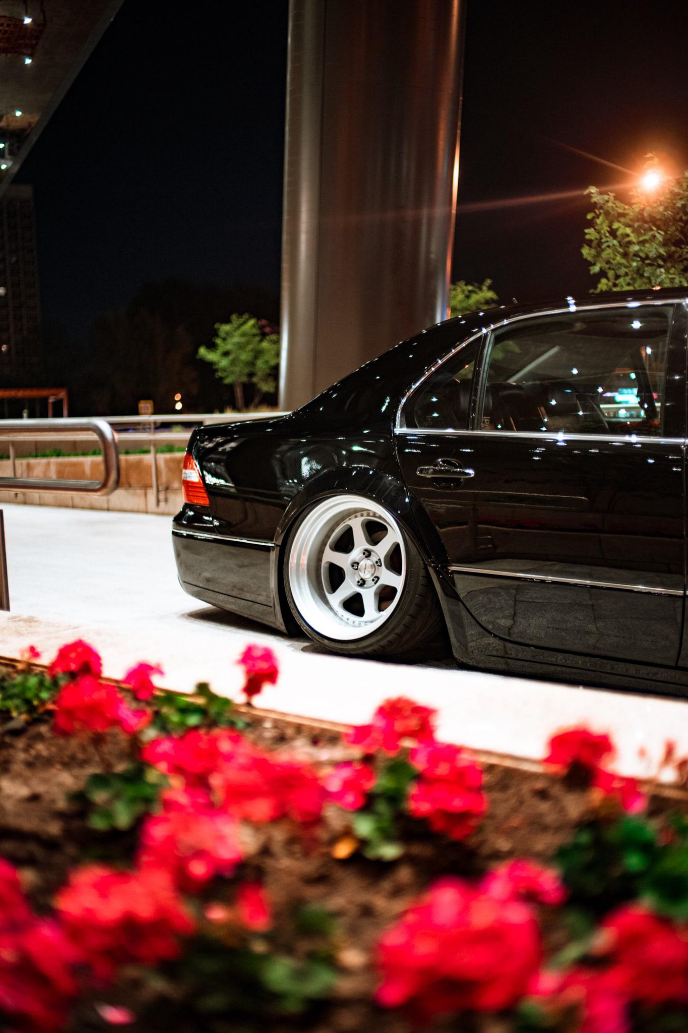 Lexus Ls Bagged Stance