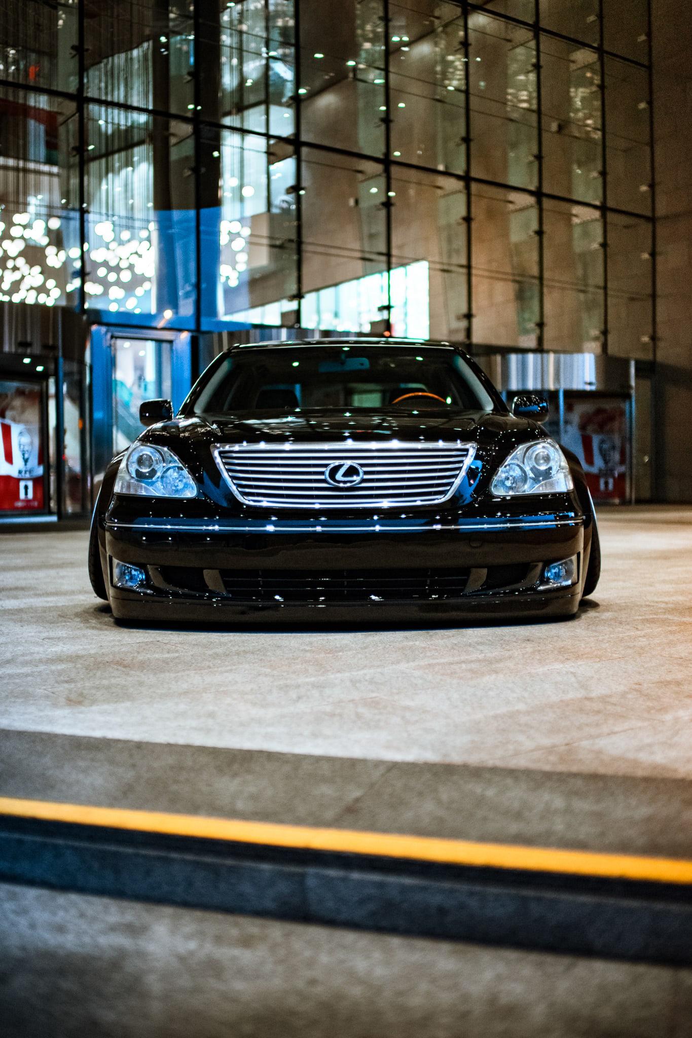 Lexus LS Stance