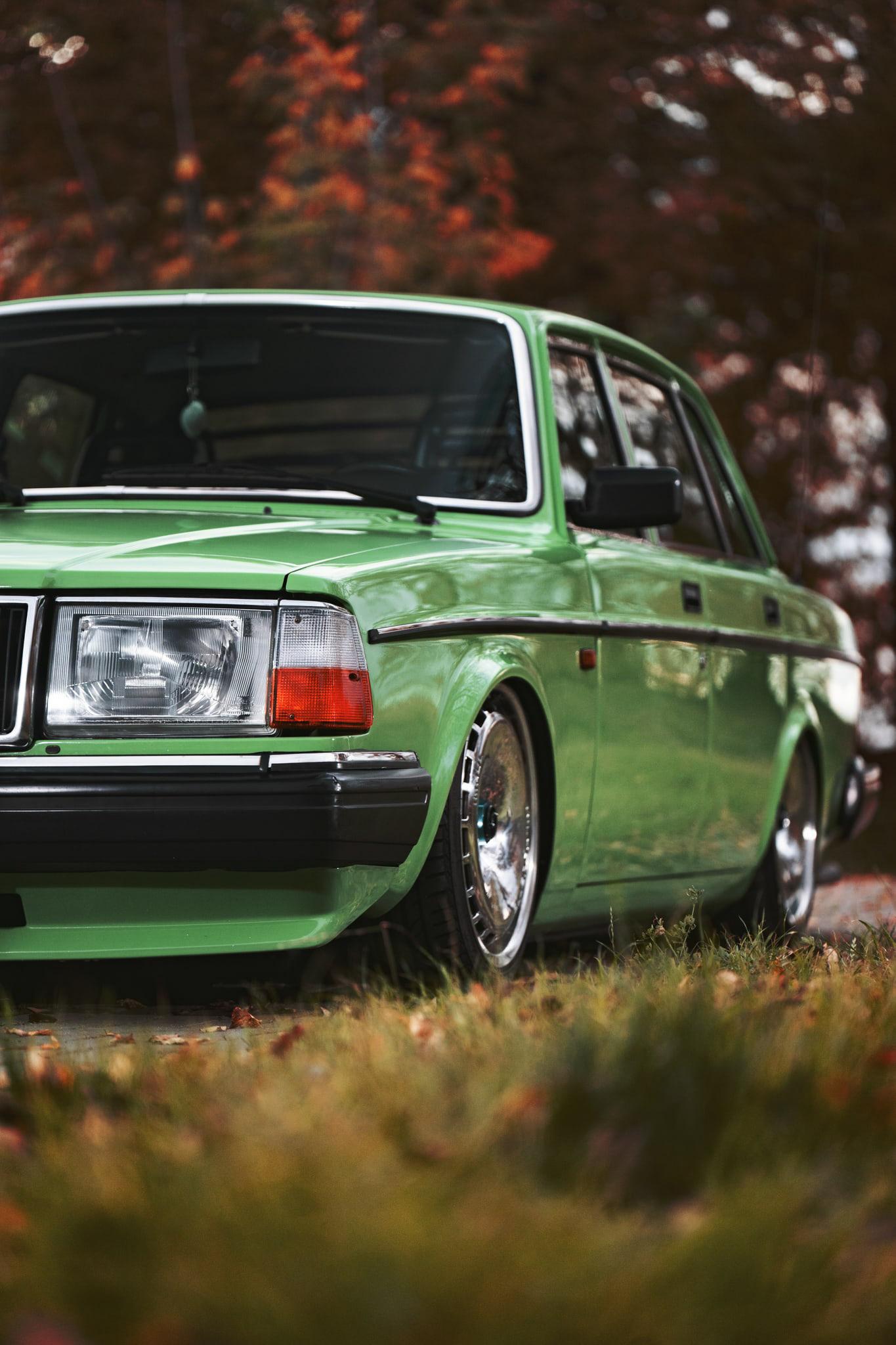 Фотосъемка авто Volvo Москва