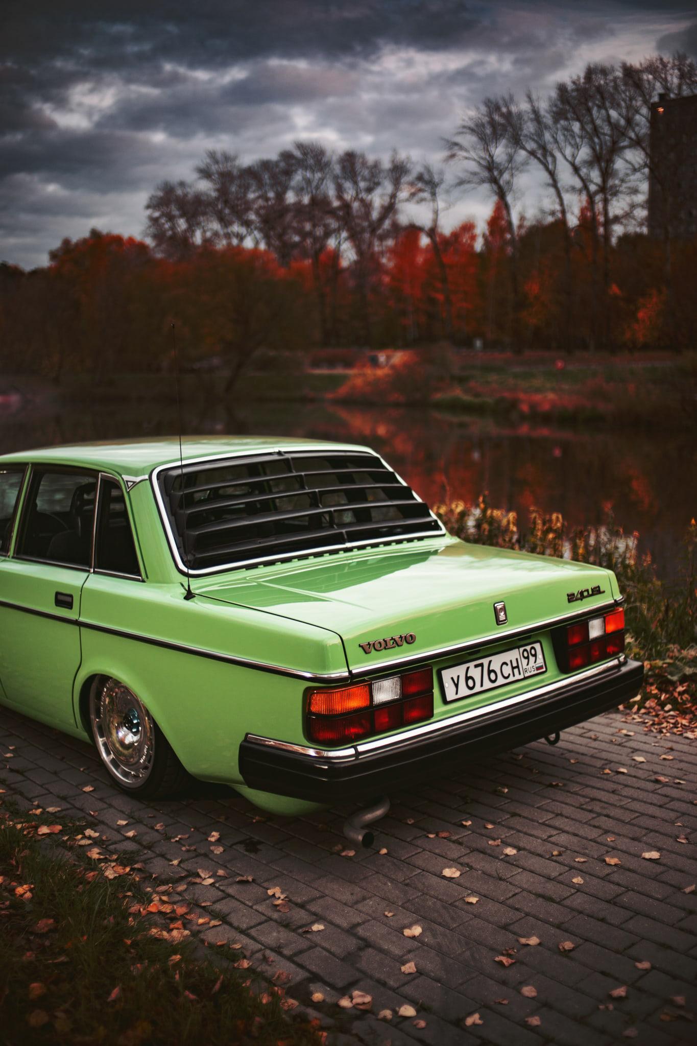 Volvo stance autumn