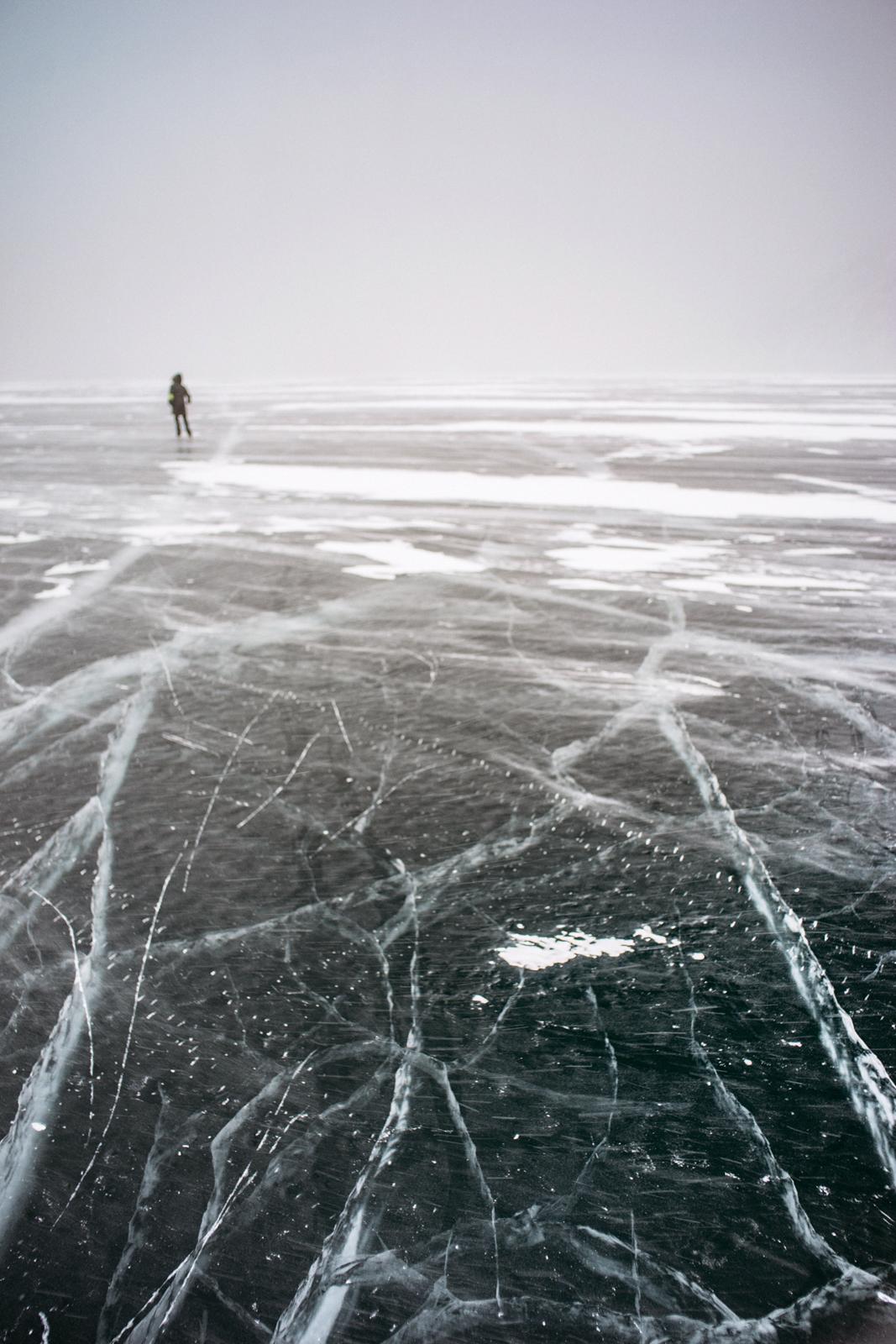 Лёд озера Байкал