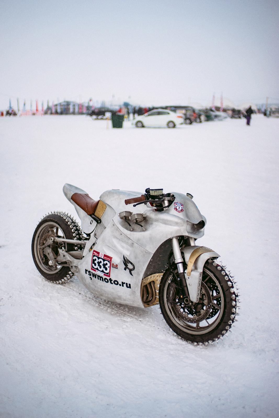 мотоцикл Байкальская миля