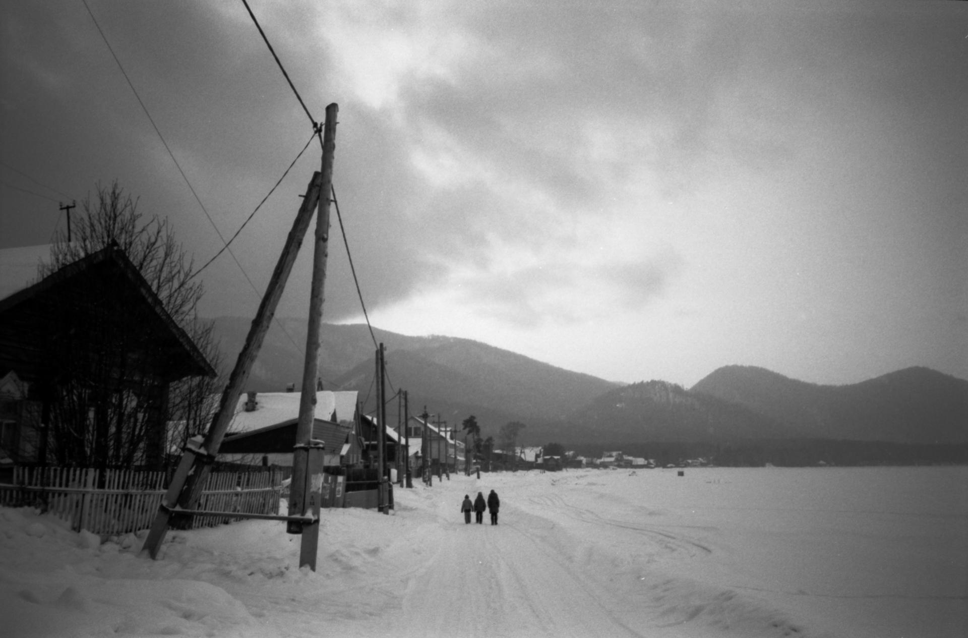 село Максимиха, Байкал