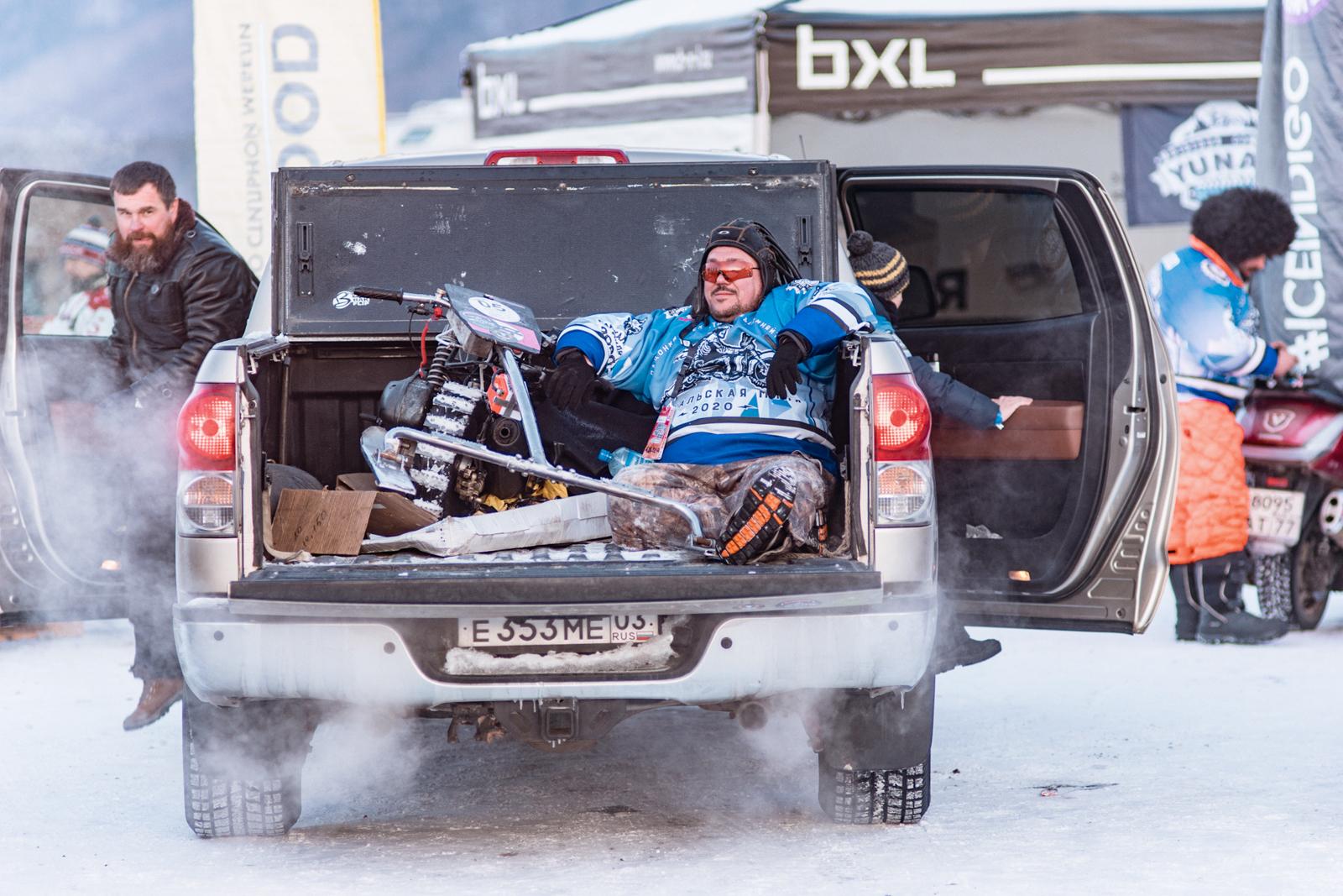 участник Baikal Mile 2020