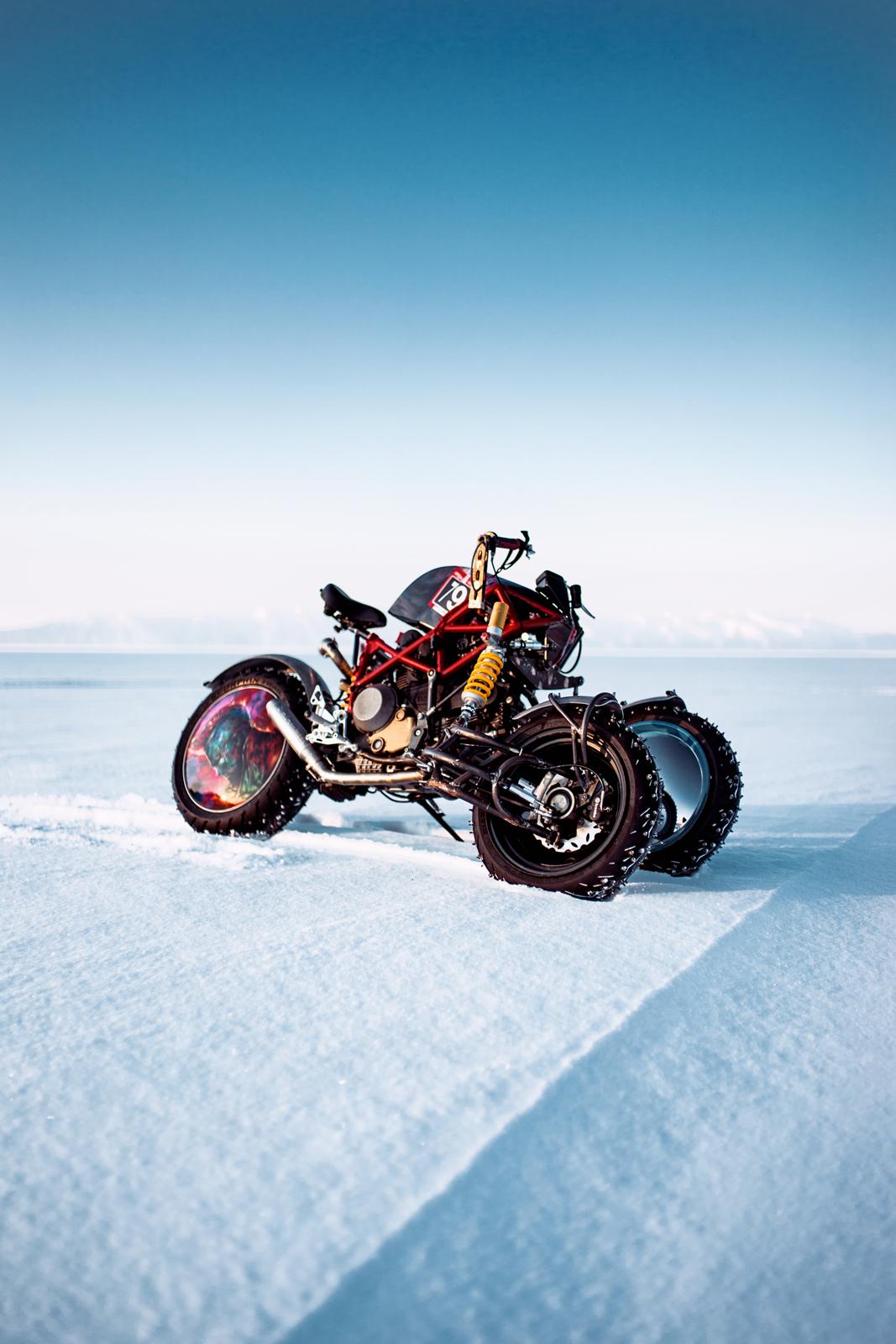 Ducati на Байкальской миле