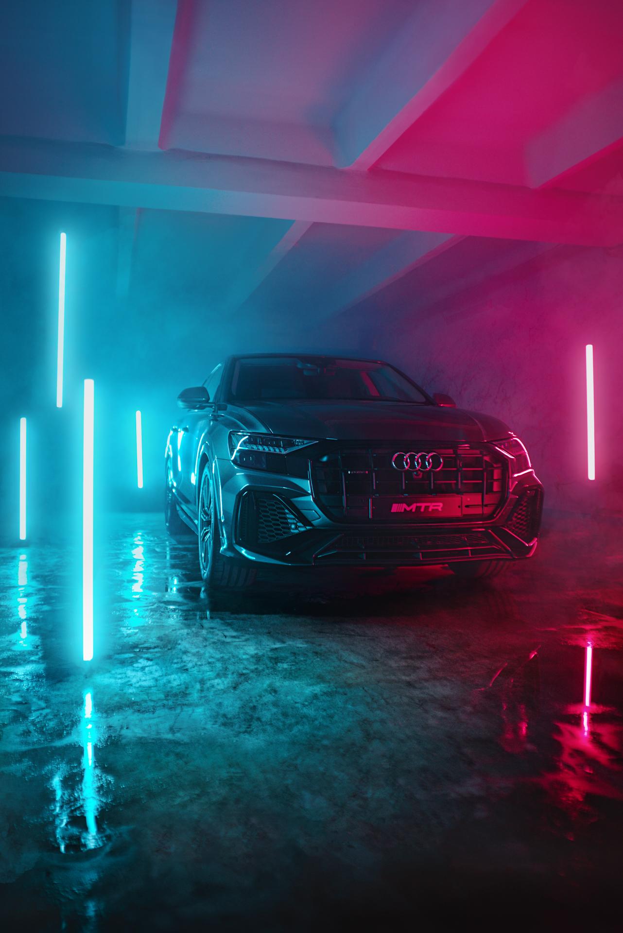 автомобиль Audi Q8 тюнинг MTR